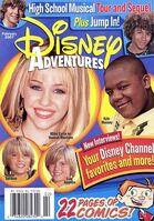 Disney adventures february 2007