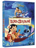 Lilo & Stitch UK DVD 2014