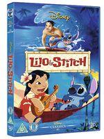 Lilo & Stitch UK DVD 2014