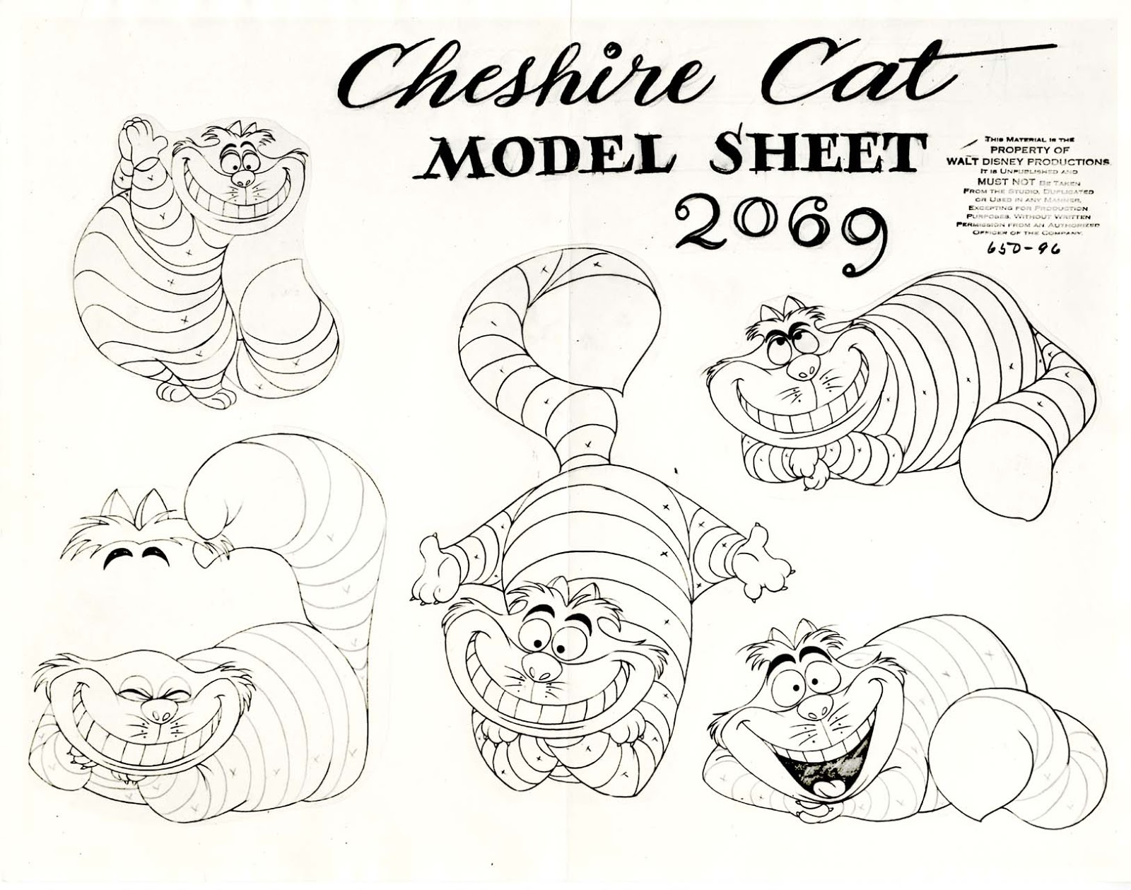 Image Model Sheet Cheshire Cat Jpg Disney Wiki Fandom Cheshire Cat Coloring Pages