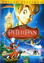 Peter Pan 2007 Brazil DVD