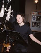 Sarah Vowell behind the scenes Incredibles