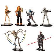 Star Wars Collectible Figures - Prequel Set