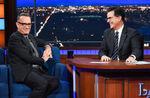 Tom Hanks visits Stephen Colbert