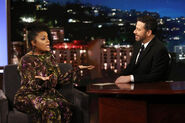 Yvette Nicole Brown visits Jimmy Kimmel