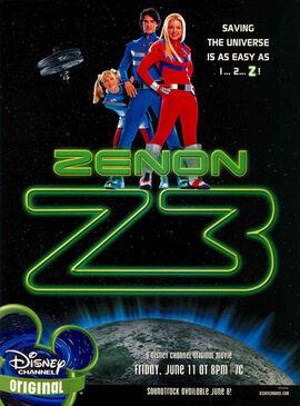 Zenon Z3 Disney print ad Nick Mag June July 2004