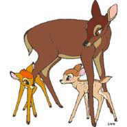 Bambi-clipart-deer-1