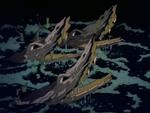 Crocodiles logs