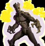 Groot Animated Render 02