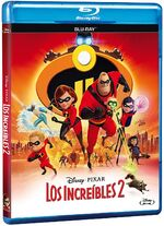 Incredibles 2 Blu-ray México