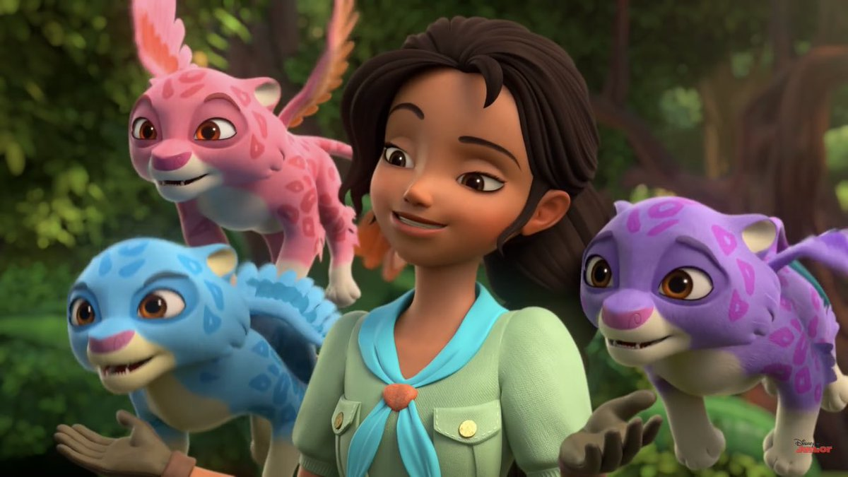 Image Isabel With Estrella Zoom And Mingo Jpg Disney