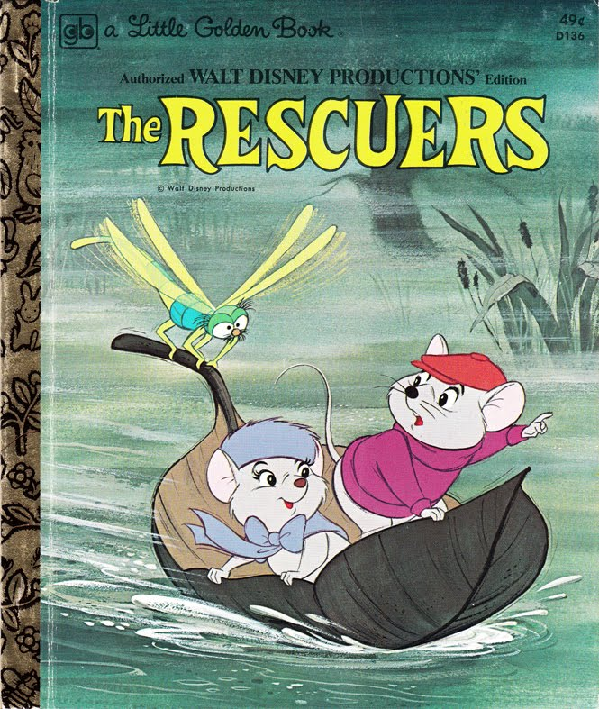 The Rescuers Little Golden Book Disney Wiki Fandom