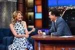 Laura Dern visits Stepehn Colbert