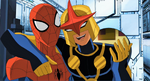 Nova and Spider Man USM 11