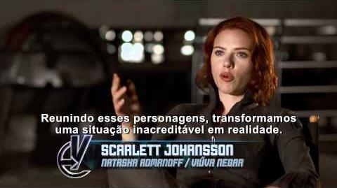 Os Vingadores The Avengers -- diretor e atores falam sobre o filme
