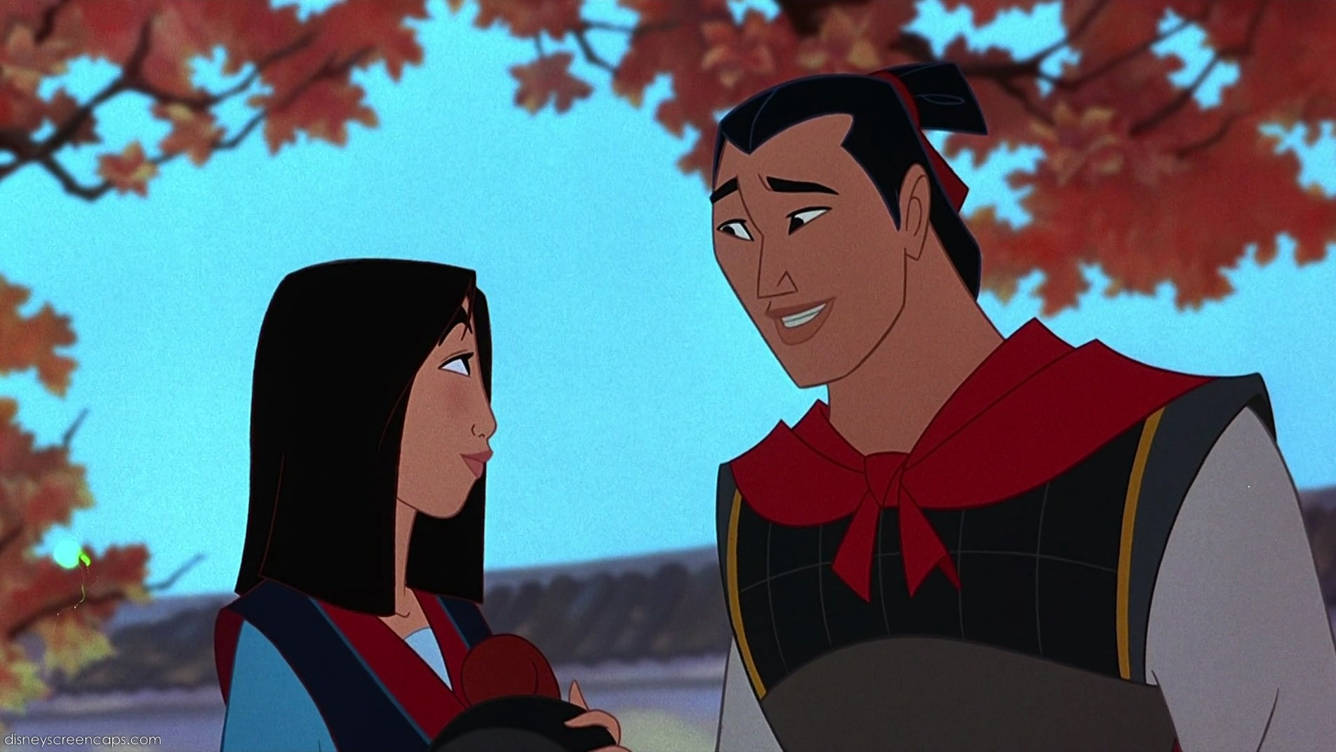 Uncategorized Mulan And Shang image shang and mulan jpg disney wiki fandom powered by wikia jpg