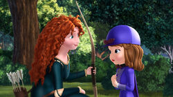 Sofia with Merida