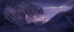The Arendelle Look Into The Mountain