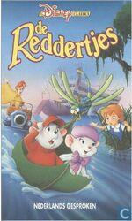 The Rescuers 1990 Dutch VHS