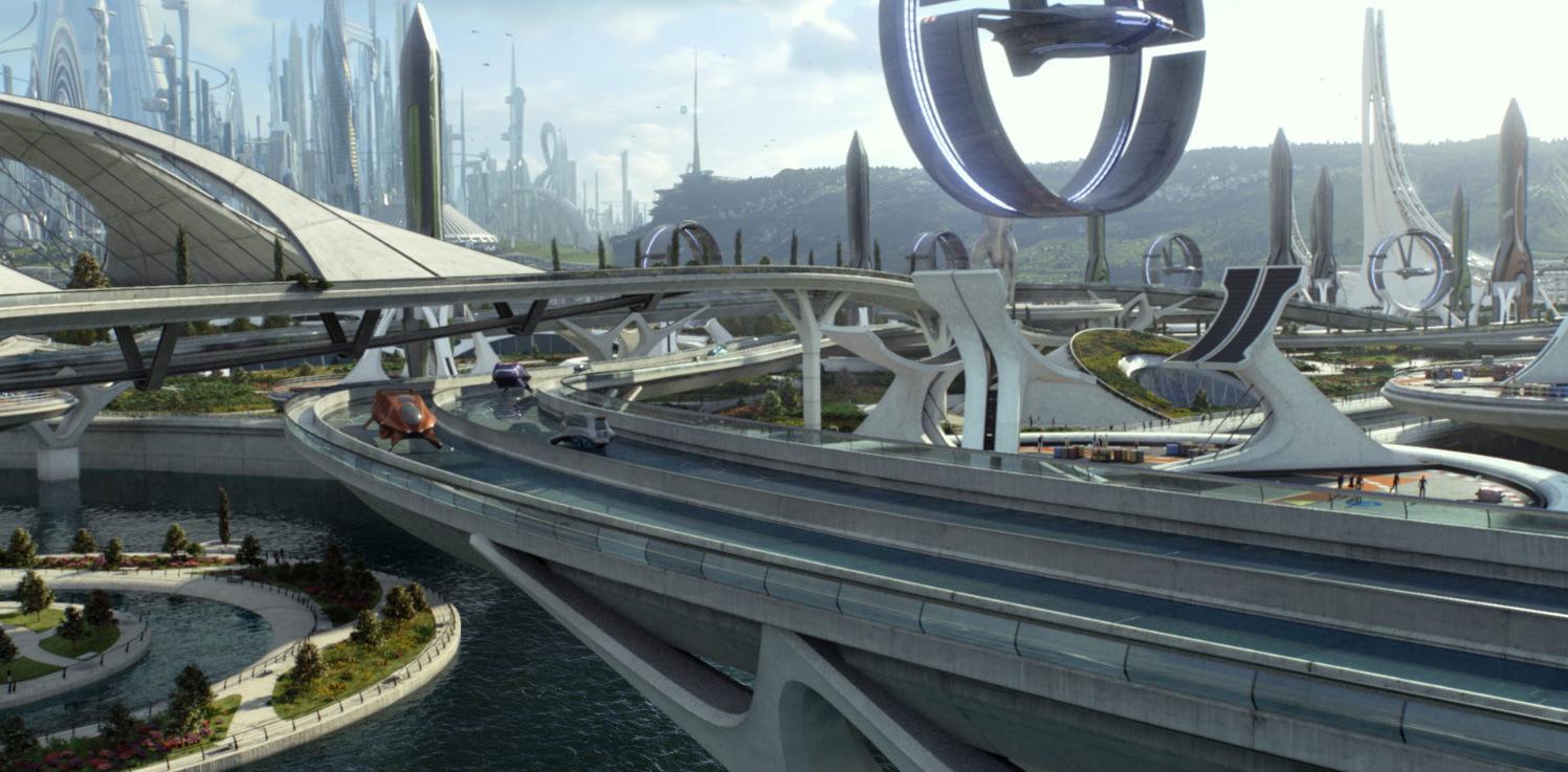 Image - Tomorrowland City 02.jpg   Disney Wiki   FANDOM