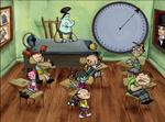 Wander in classroom