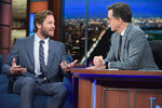 Armie Hammer visits Stephen Colbert