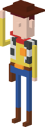 Crossy road Woody