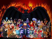 Disney Evil Villains