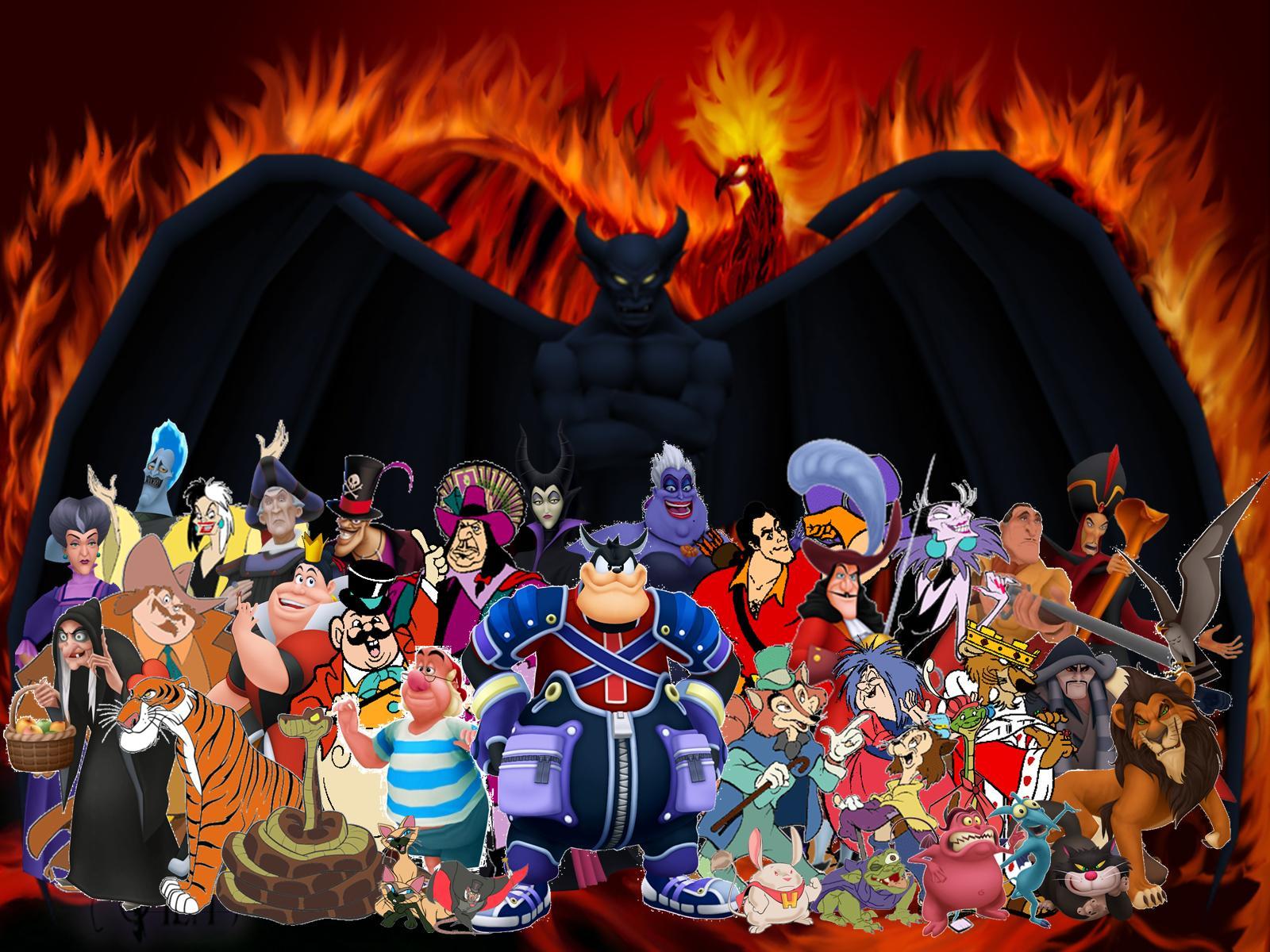 Disneys Atlantis The Villains: Immagine - Disney Evil Villains.jpg
