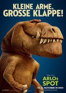 Good Dinosaur German Character Poster 3