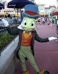 Jiminy Cricket at Magic Kingdom