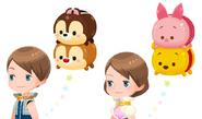 Kingdom Hearts Tsum Tsum Outfit Accessory 2