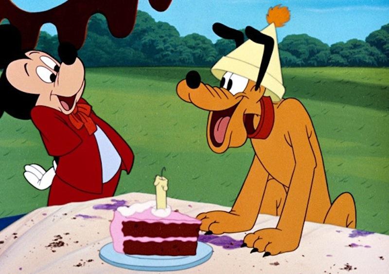 Image Mickey And Friends Pluto Birthday Cakeg Disney Wiki