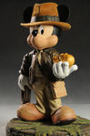 Mickey Indiana Jones Figure