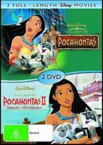 Pocahontas + Pocahontas II 2006 AUS DVD
