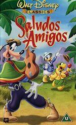 Saludos Amigos (2000 UK VHS)