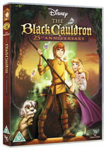 The Black Cauldron 2010 UK DVD