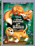 The Fox and the Hound DVD and Blu-ray
