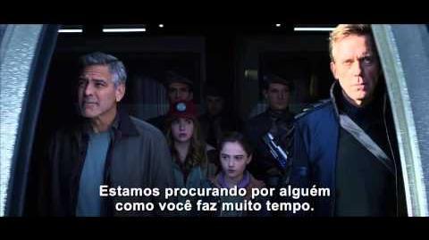 Tomorrowland - Um lugar Onde Nada é Impossível - 04 de Junho nos Cinemas - vídeo 30''- Real