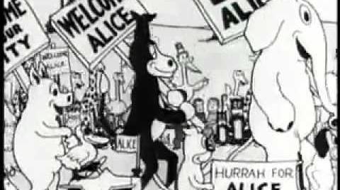 Alice Comedies Short 1 Alice's Wonderland (1923)