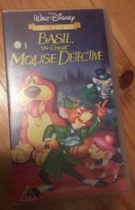 Basil the Great Mouse Detective 1997 AUS Cover