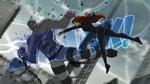 Black Widow takes on Absorbing Man USMWW