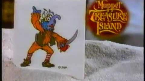 Cheerios Commerical - Muppet Treasure Island Tattoo Giveaway - Inside Every Box (1996)