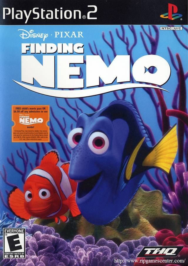 Finding Nemo Video Game