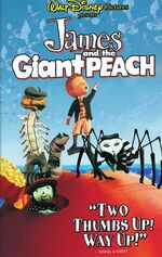 James and the Giant Peach 1996 VHS