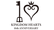 Kingdom hearts 10th anniversary logo transparent