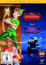 Peter Pan Germany 2-Movie DVD