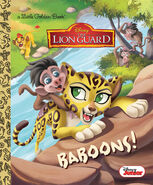 The Lion Guard Baboons! Book