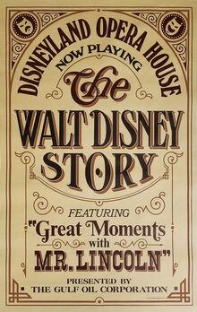 Walt Disney Story Poster