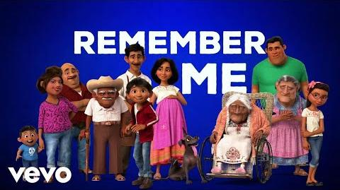 """Miguel - Remember Me (Dúo) (From """"Coco"""" Official Lyric Video) ft. Natalia Lafourcade"""